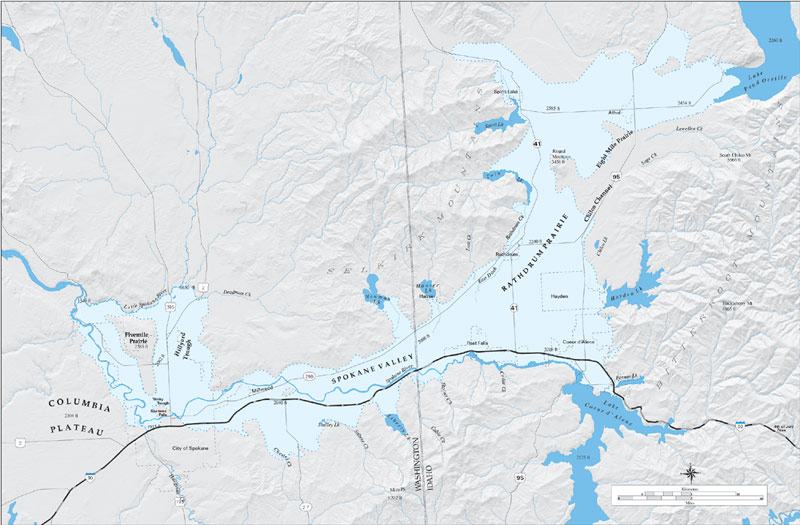 Maps Spokane Aquifer Joint Board