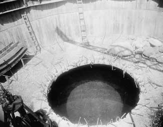 Upriver Well Construction, c. 1925